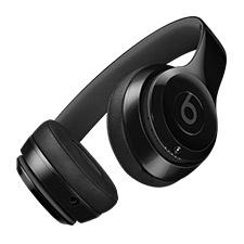 Genuine Bluetooth Headphones Beats by Dr. Dre Solo3 Wireless Headband Black